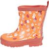 Viking Footwear Dråpe Kalosze Dzieci pomarańczowy
